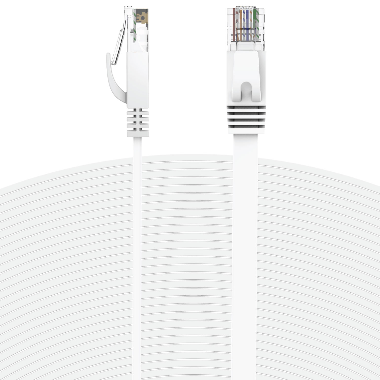 Fosmon Ethernet Cable Flat 15 Feet