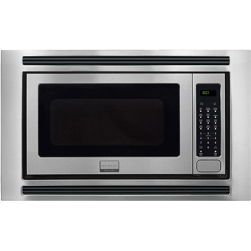 frigidaire gallery series 2 cu ft 1200w sensor microwave oven for built in installation stainless steel