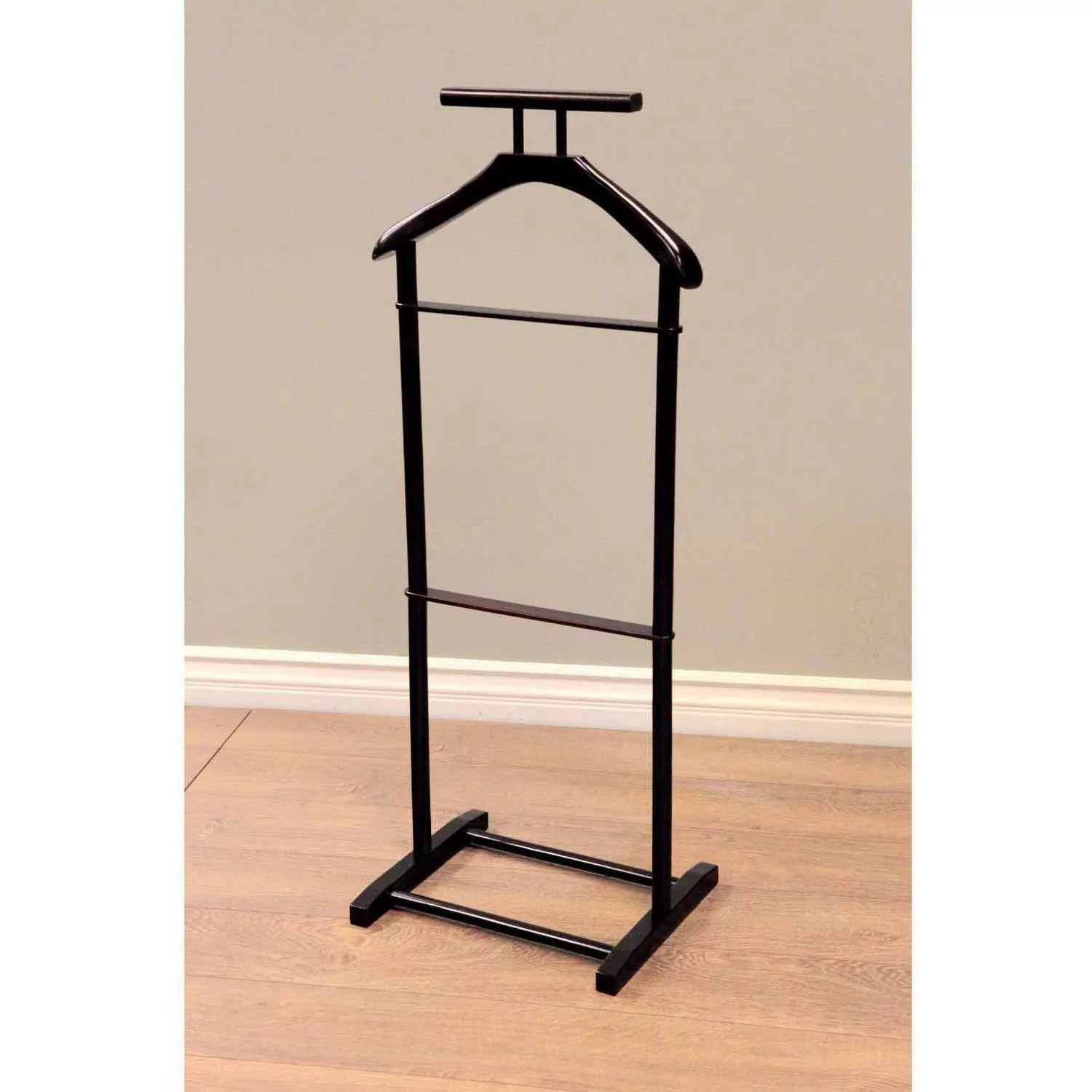 home craft men s valet stand in multiple colors