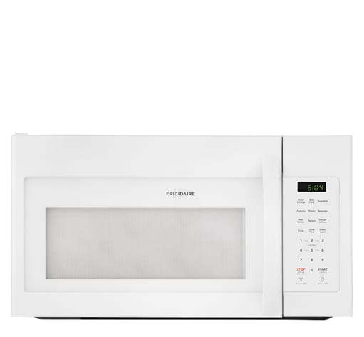 frigidaire ffmv1745tw 30 inch over the range 1 7 cu ft capacity microwave oven white
