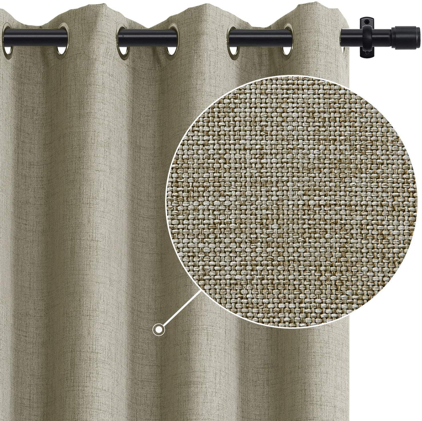 rose home fashion rhf function curtain wide thermal blackout patio door curtain panel sliding door insulated curtains extra wide curtains vertical