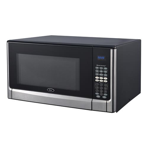 oster ogyz1604vs 1 6 cubic foot 1100 watt microwave oven with inverter and senso