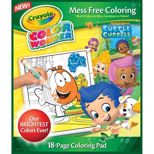 Crayola Cw,29pg,bubble Guppies,clrg Pad,29pk - Walmart.com