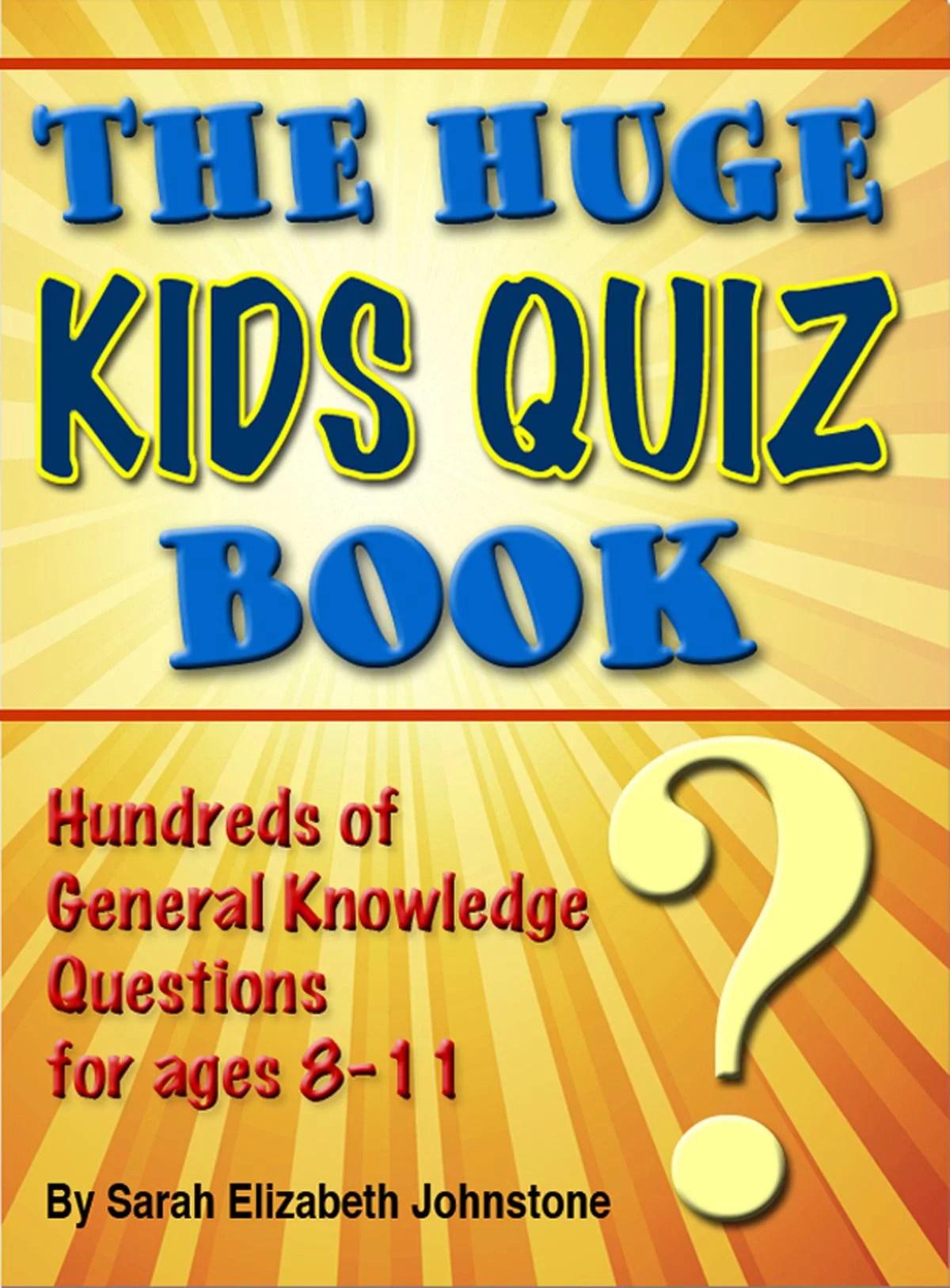 The Huge Kids Quiz Book Educational Mathematics