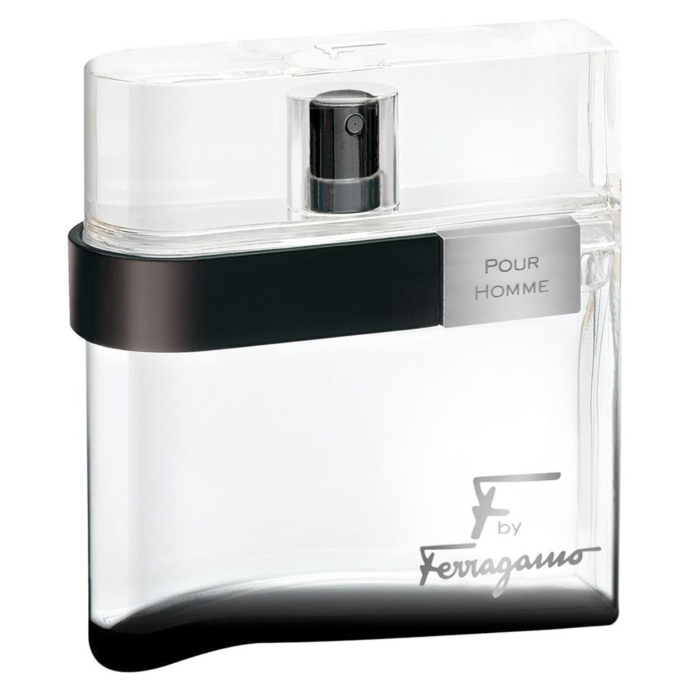 Salvatore Ferragamo F Black Eau De Toilette Spray, Cologne for Men, 1.7 Oz