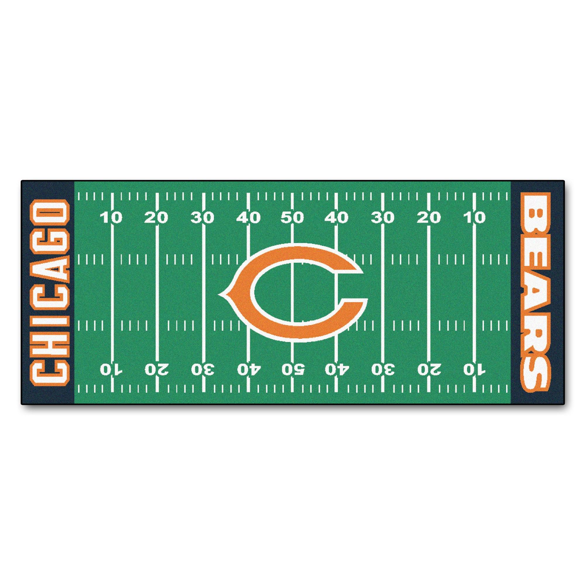 nfl chicago bears shower curtain 1 each