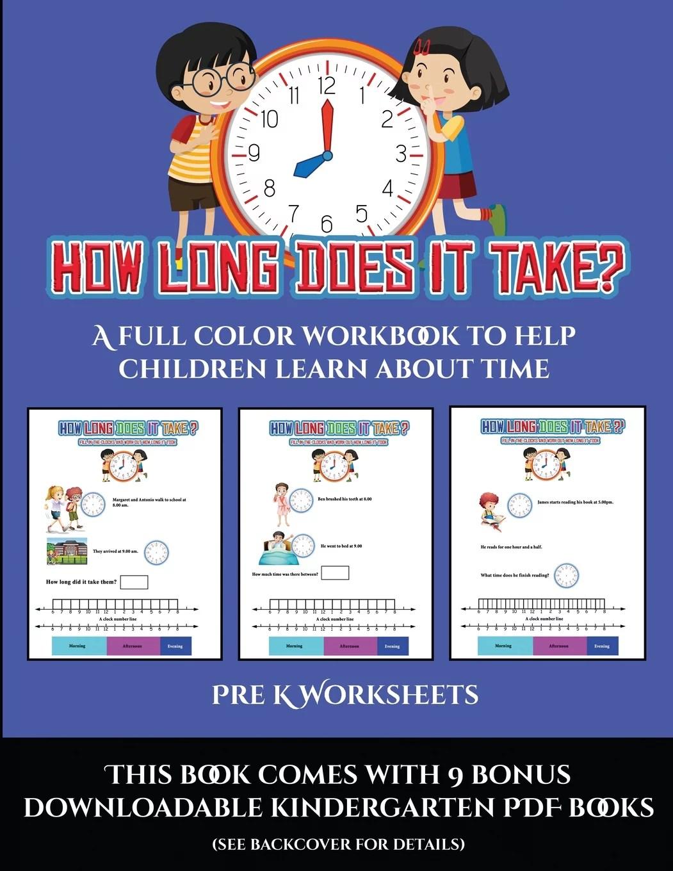 Pre K Worksheets Pre K Worksheets How Long Does It Take