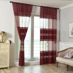 1pcs Luxurious Tulle Curtains Elegant Floral Sheer Curtain Panel Drapes For Living Room Bedroom Window Dressing Home Decor 106 X39 Walmart Canada
