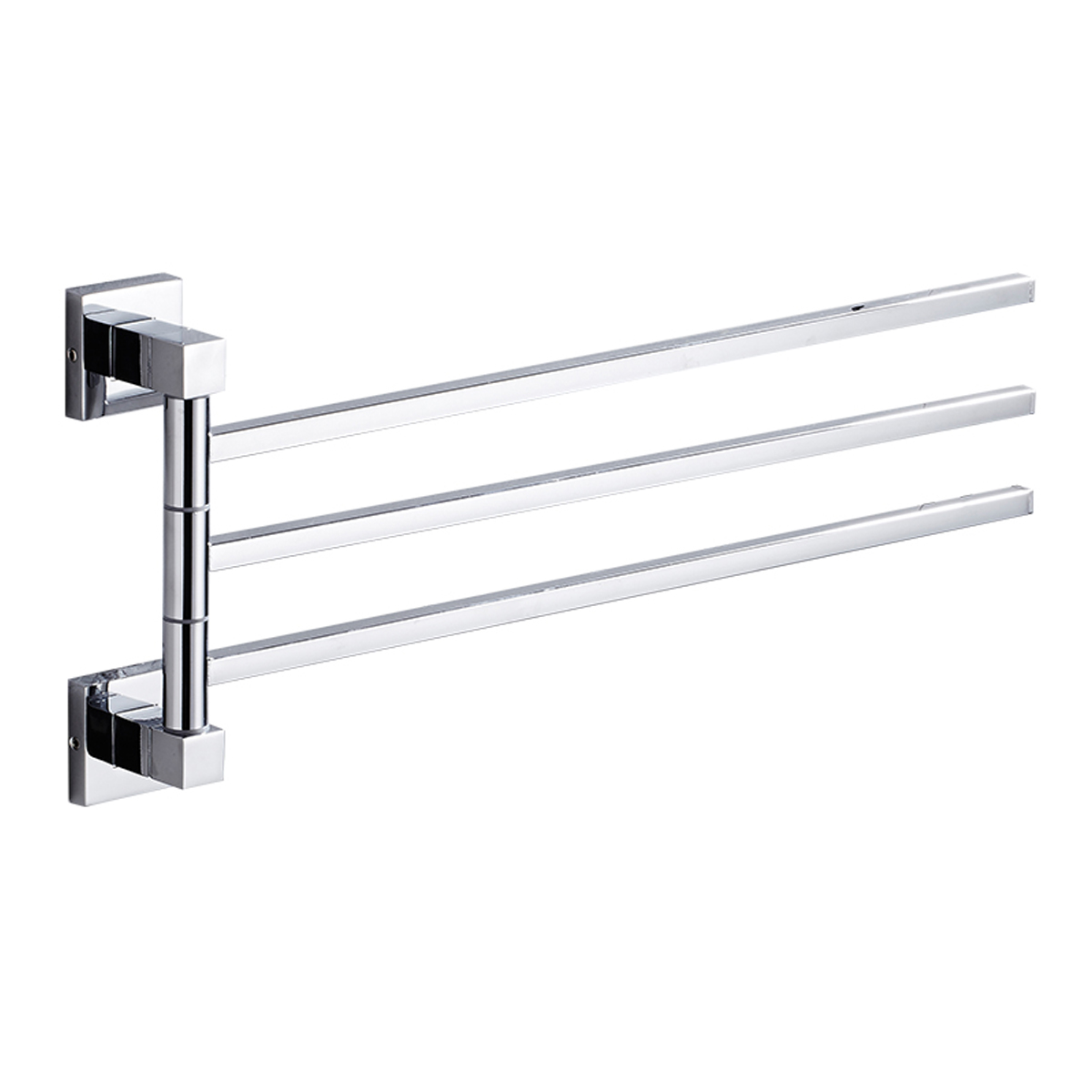 bathroom swing arm towel bars 3 arms towel hanging rack movable towel bars bath towel rack shelf swivel towel bar