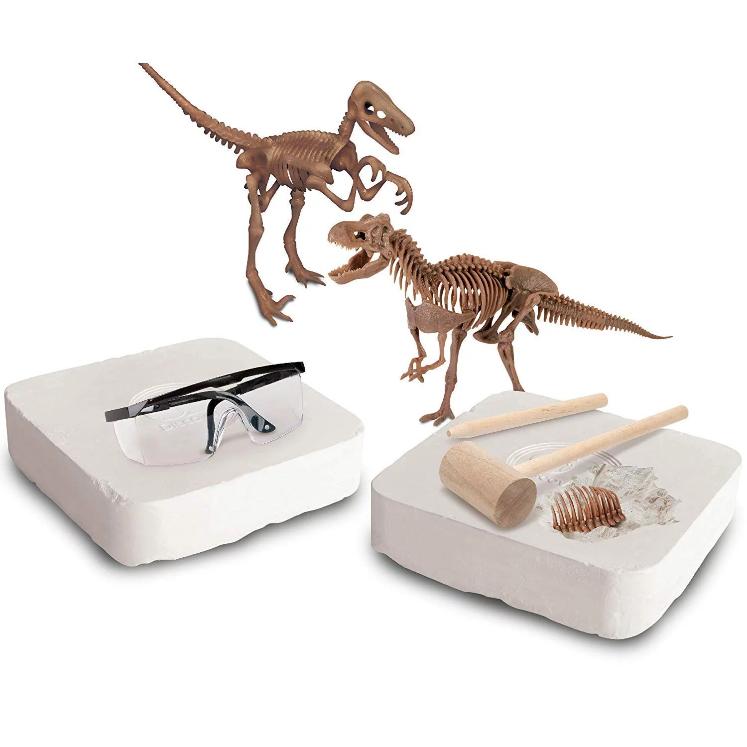Discovery Mindblown Toy Dinosaur 3d Fossil Skeleton