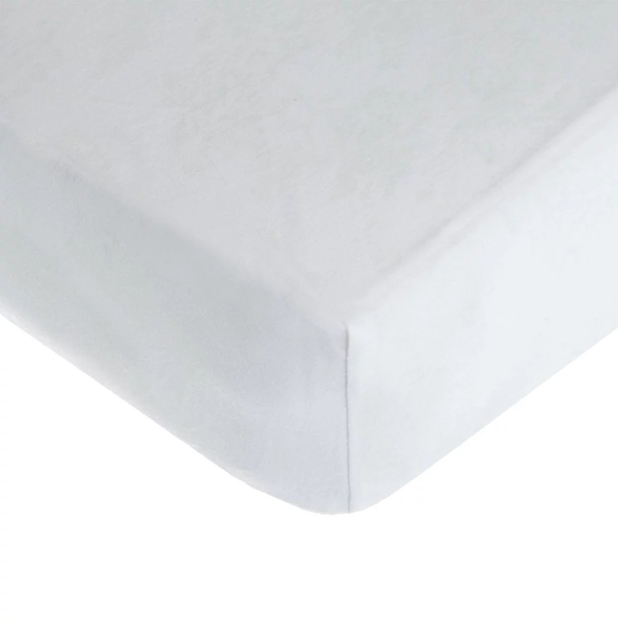 American Baby Co. Cotton Jersey Knit Fitted Mini Crib Sheet, White