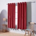 Deconovo Velvet Curtains Solid Soft Sunlight Block Nursery Window Curtain Walmart Com Walmart Com