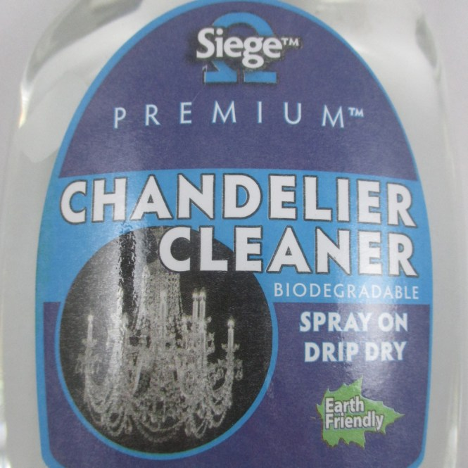 Glass Crystal Chandelier Cleaner Spray Light Fixture Dining Solution 24 Oz