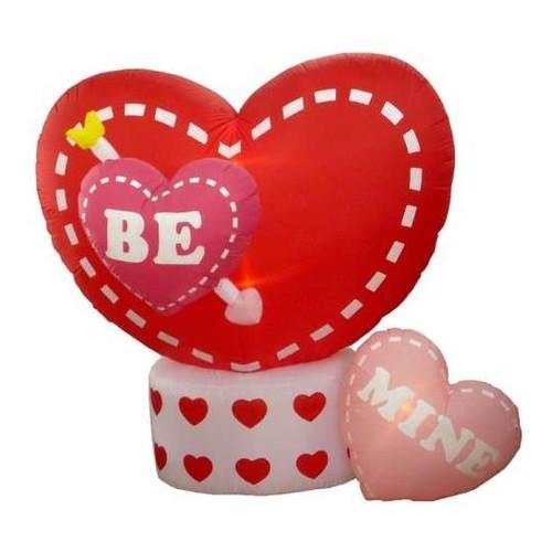 Northlight Seasonal Inflatable Animated Be Mine Hearts