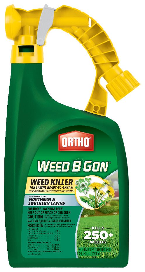 Ortho Weed B Gon Weed Killer for Lawns Ready-To-Spray2, 32 oz