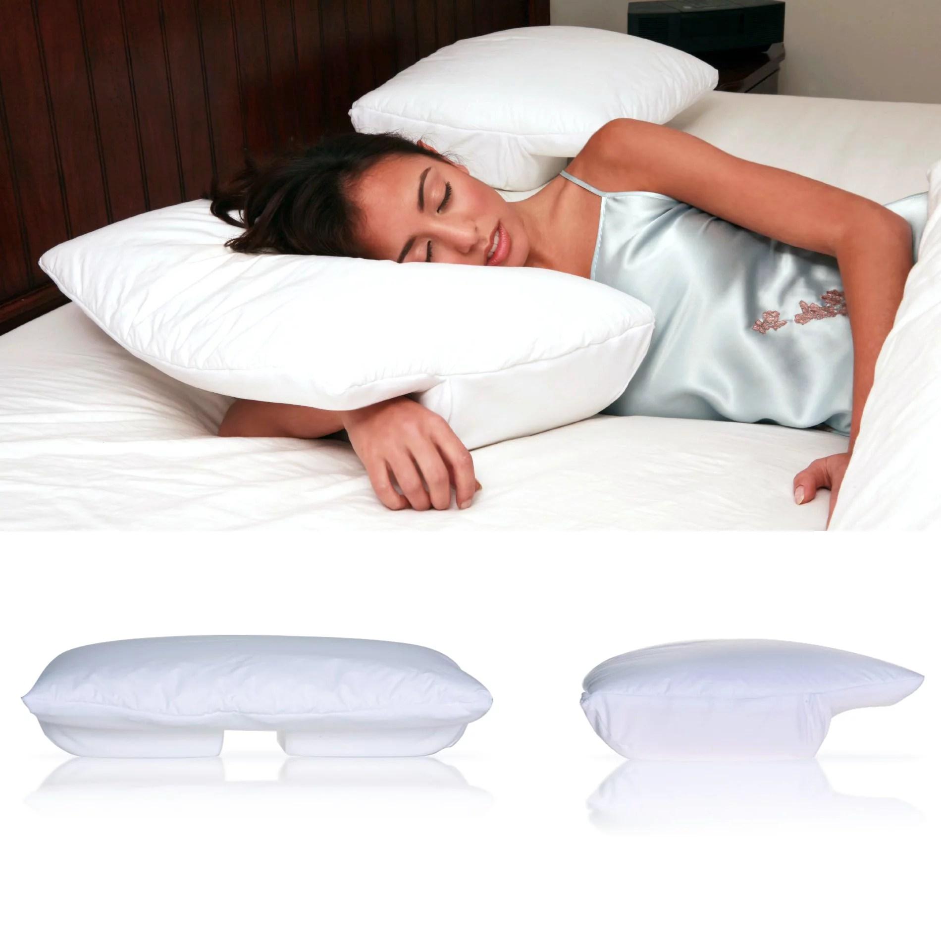 better sleep pillow small memory foam sleeping w arm under pillow walmart com
