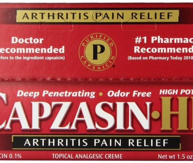 Capzasin Hp Arthritis Muscle Pain Relief Cream   Oz