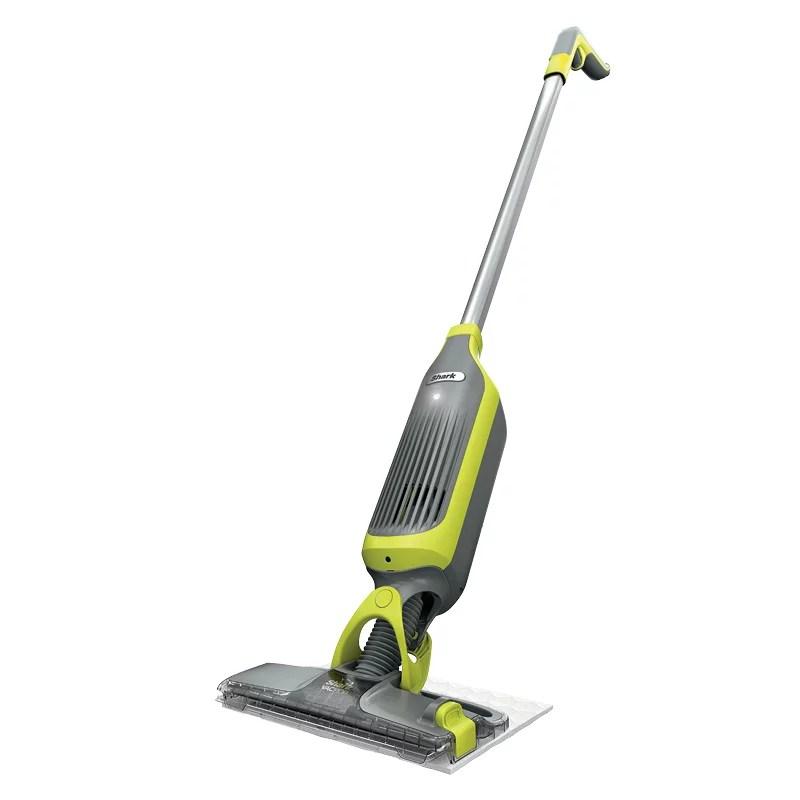shark vacmop cordless hard floor vacuum mop with disposable vacmop pad vm200
