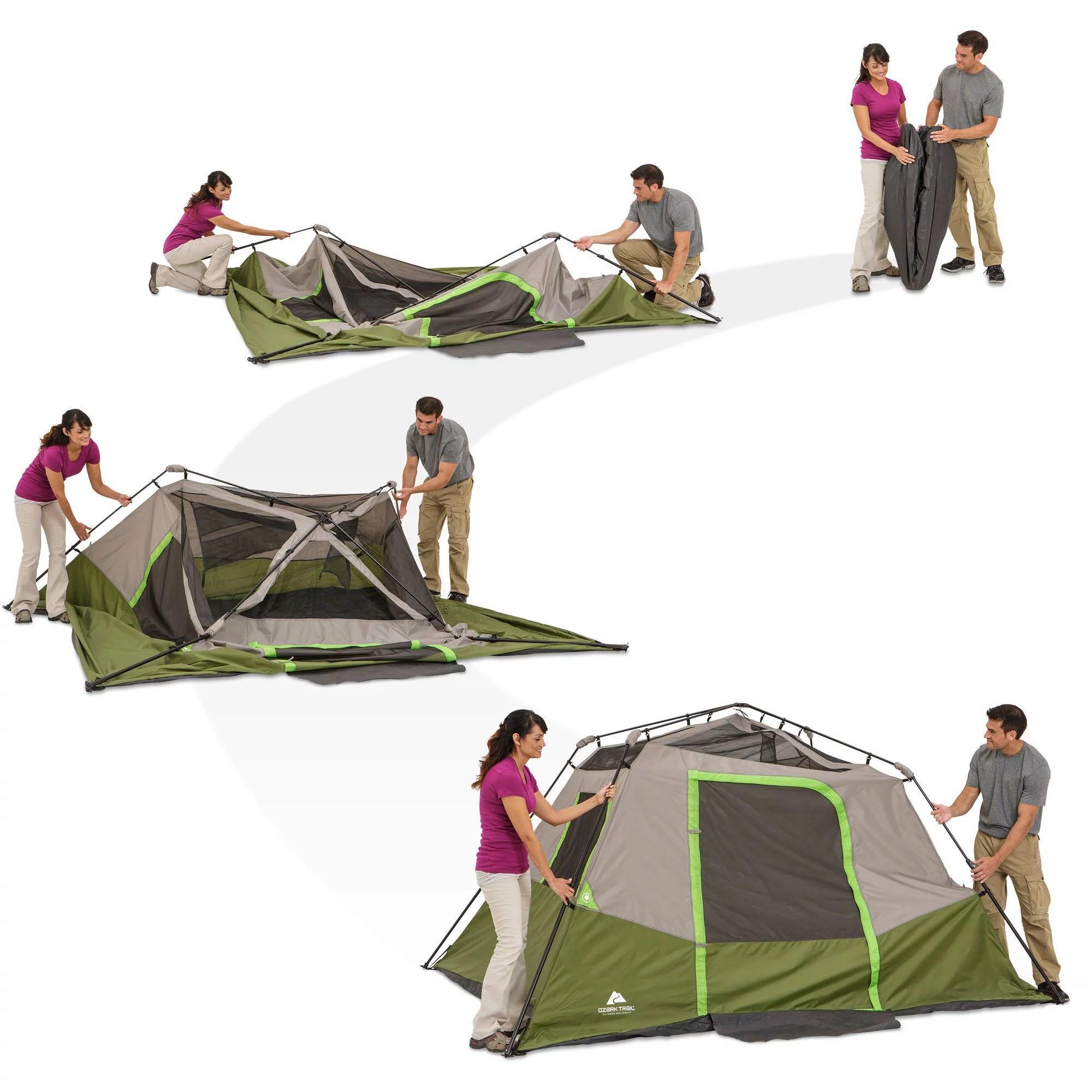 Coleman Bayside Tent Review Elite 6 8 Person Family Shelters  sc 1 st  Best Tent 2017 & Coleman Bayside 8 Person Tent Setup - Best Tent 2017