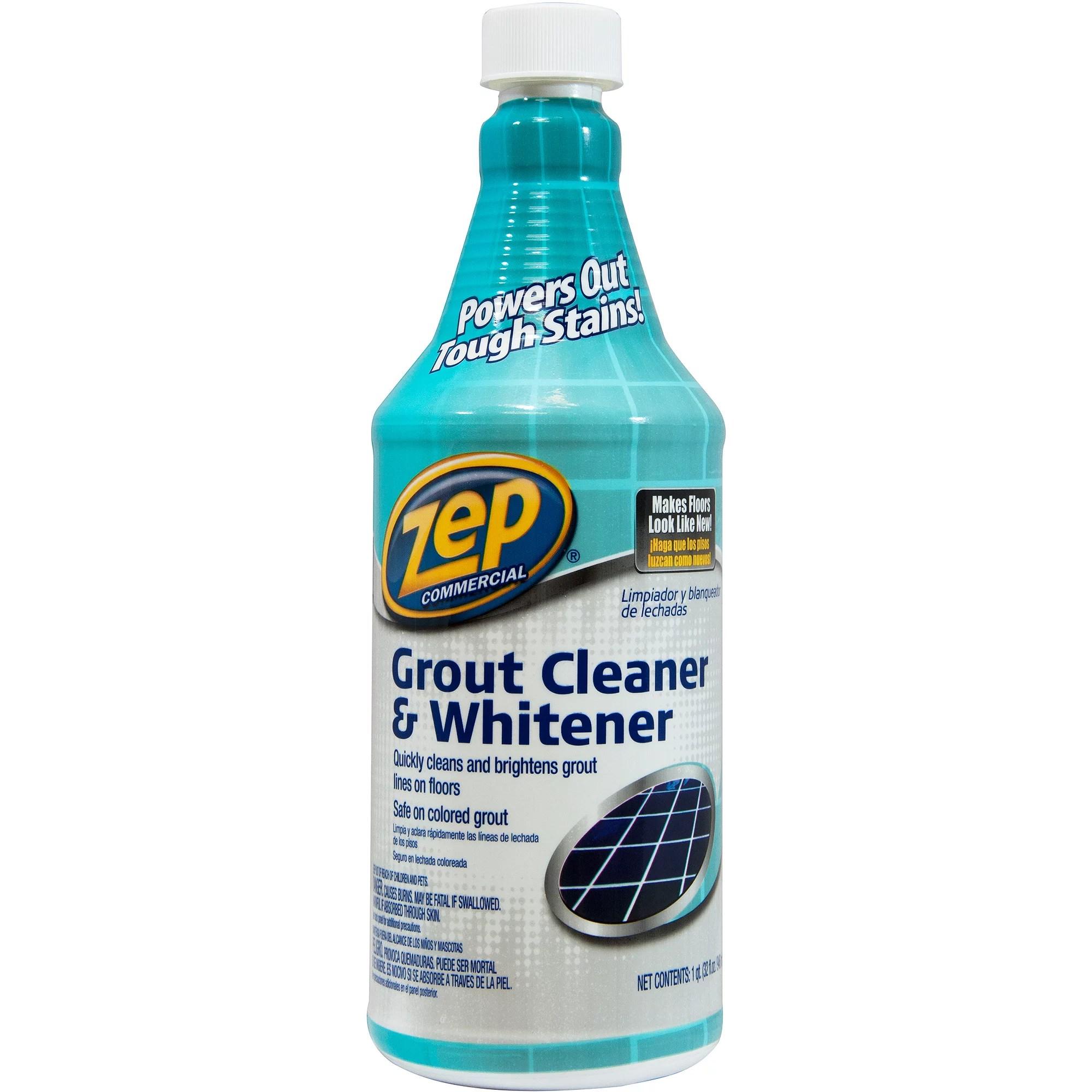 zep commercial grout cleaner 32 oz walmart com