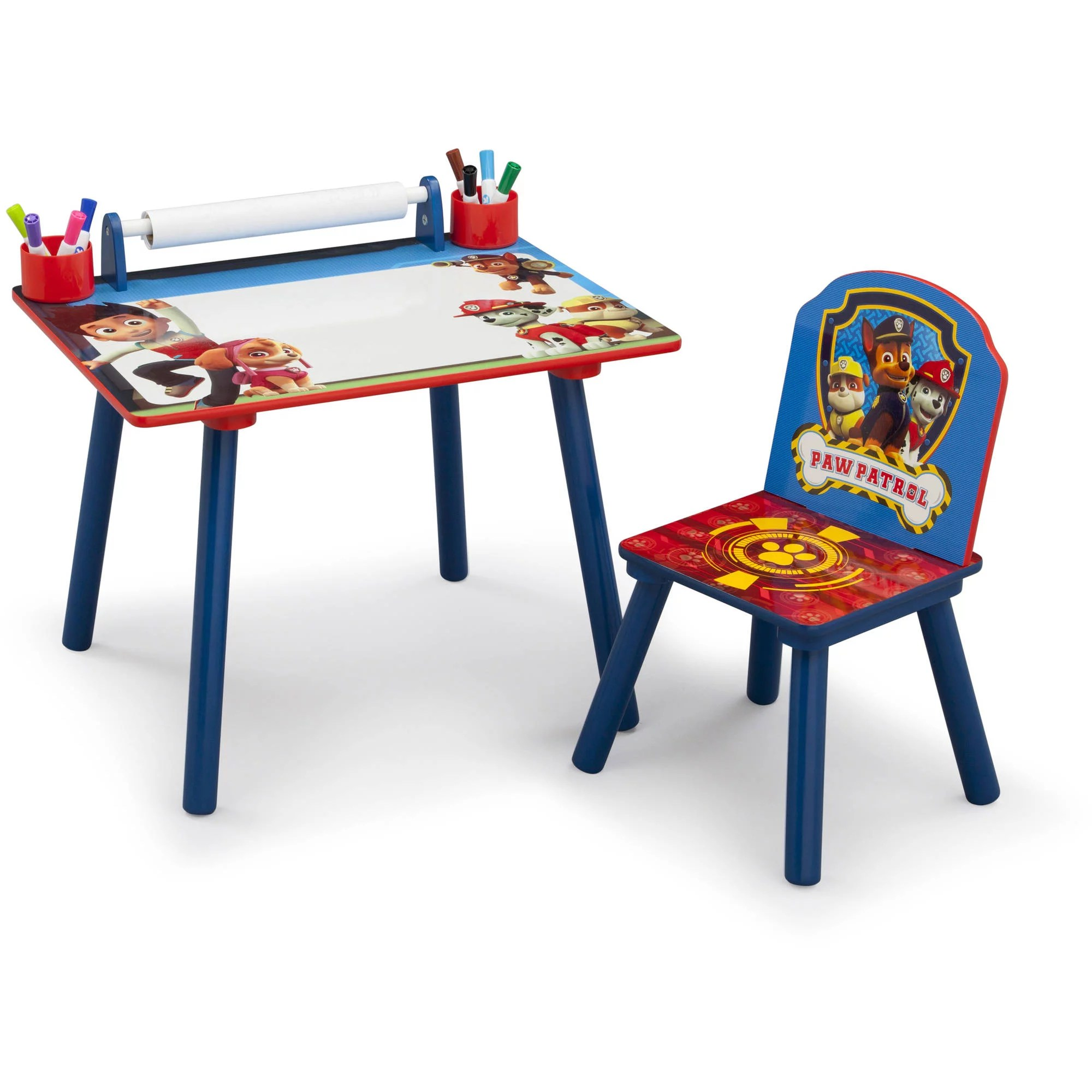Paw Patrol Toddler Art Desk With Chair
