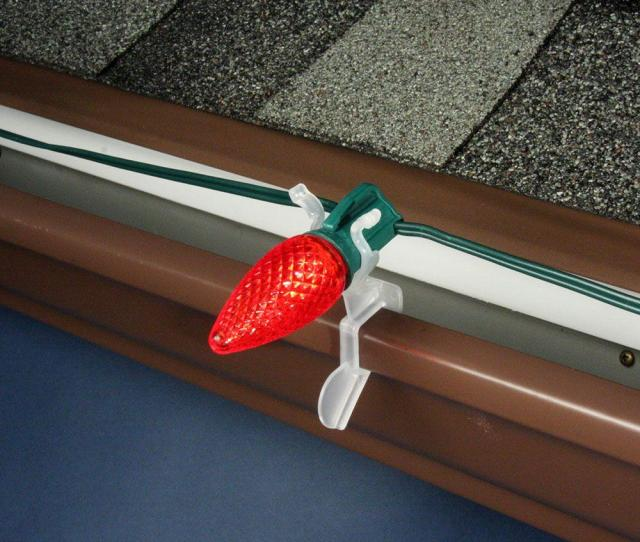 Ct Commercial Grade All Application Outdoor Gutter And Shingle Christmas Light Clips