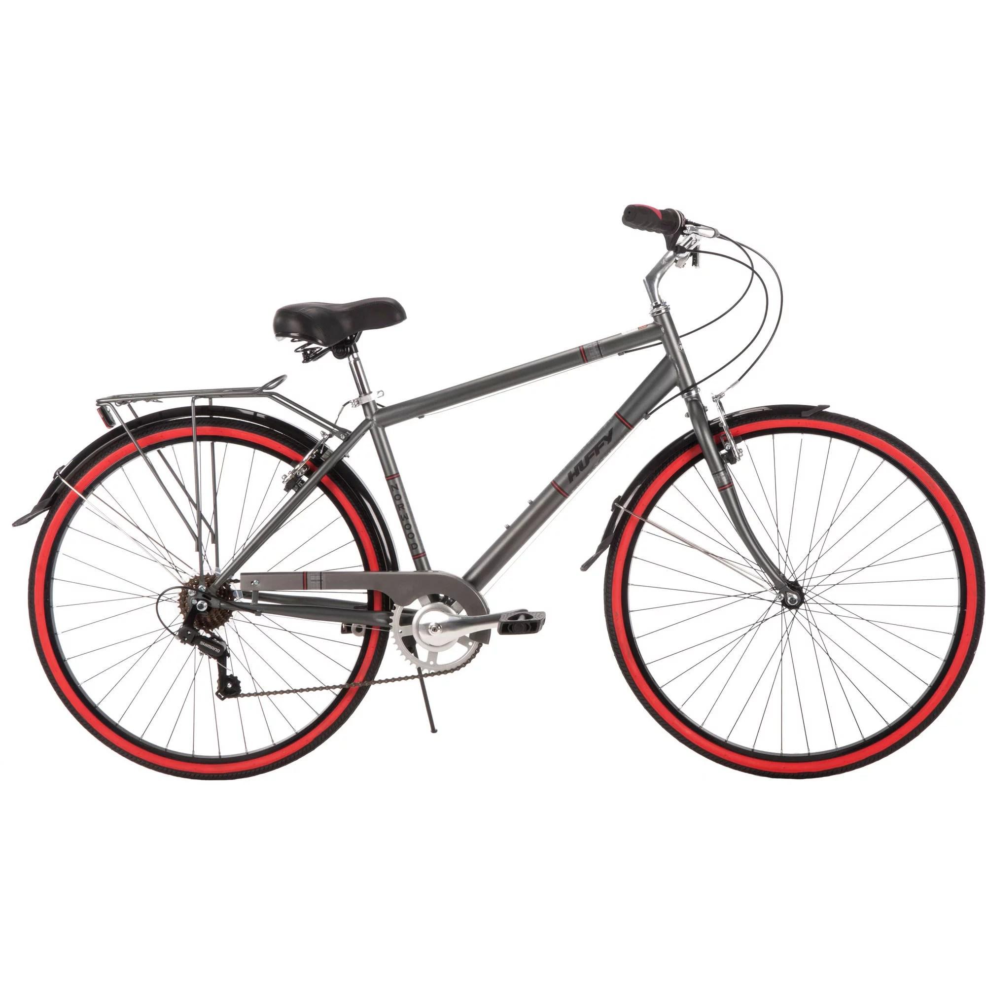 700c Huffy Men S Norwood Cruiser Bike Grey