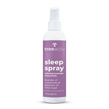 TreeActiv Sleep Spray, Calming Lavender Chamomile | Soothing Essential Oil Freshener for Pillow, Blanket, Bedding, & Sheets | Witch Hazel Aromatherapy Mist for Relaxation & Meditation | 1000+ Spr - Walmart.com - Walmart.com
