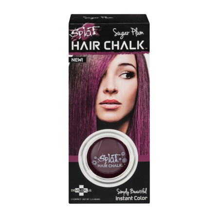 splat hair chalk sugar plum 3 5 g walmart