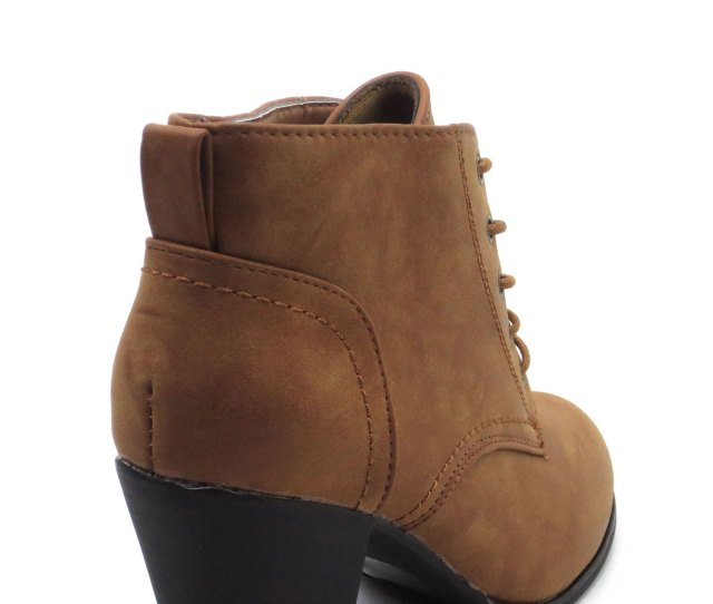 Blue Suede Shoes Blue Womens Low Heel Ankle High Lace Up Side Zip Fashion Winter Fall Boots 2018 Holidays Collection Kendra Size 8 5 Tan Walmart Com
