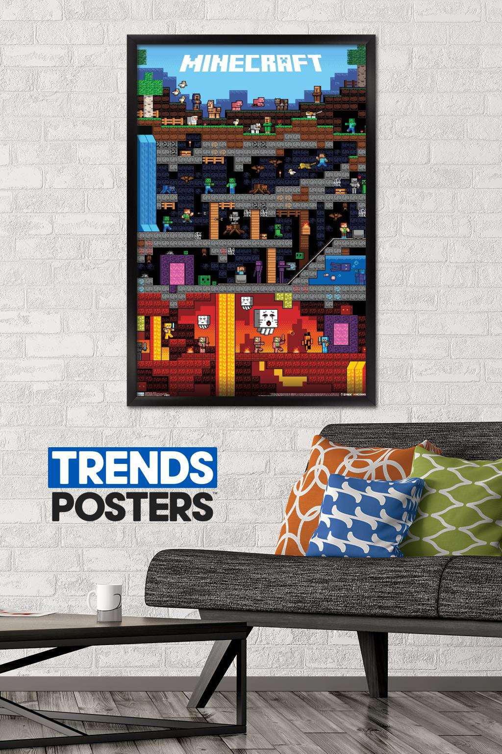 minecraft worldly poster