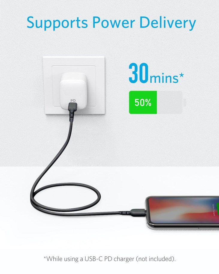 Anker PowerLine Select USB-C to Lightning Cable 3ft bangladesh price