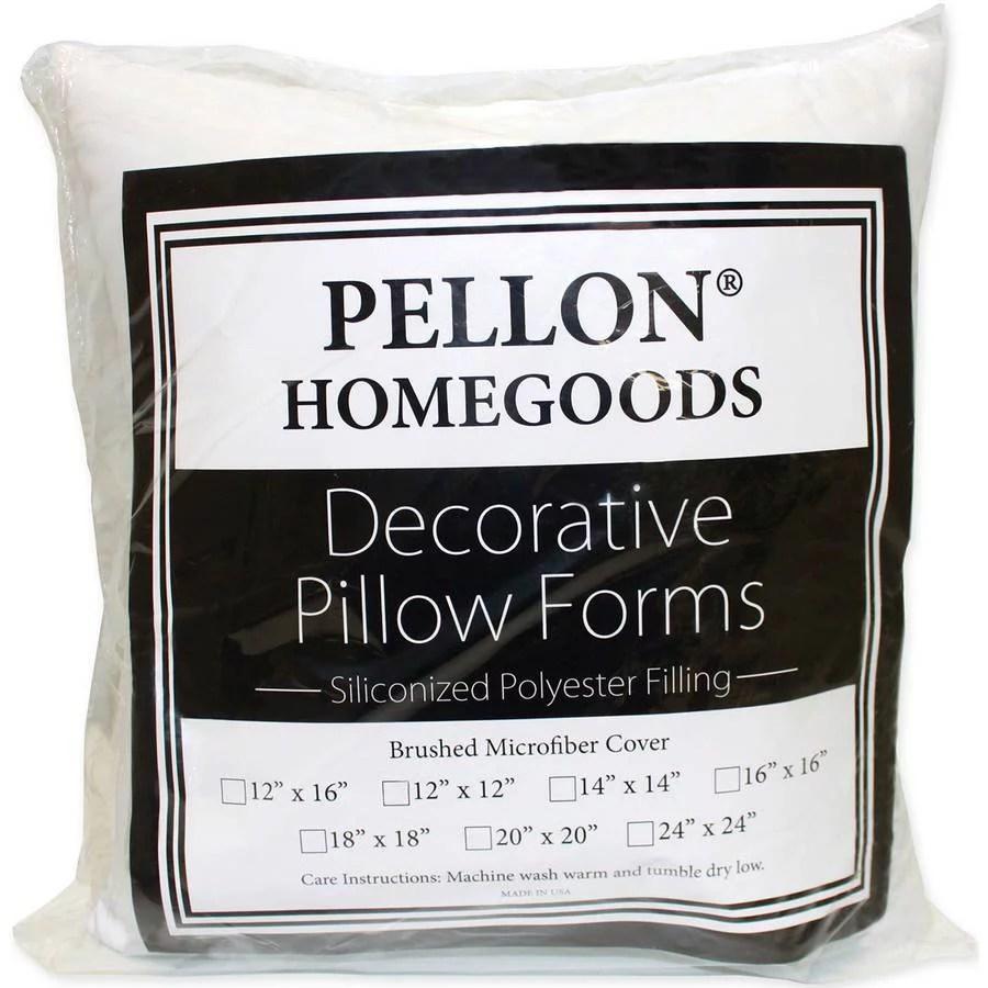 decorative pillow form 14 x 14