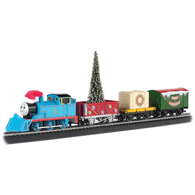 Bachmann Trains Thomas And Friends Christmas Express Ho Scale Ready To Run Electric Train Set Com
