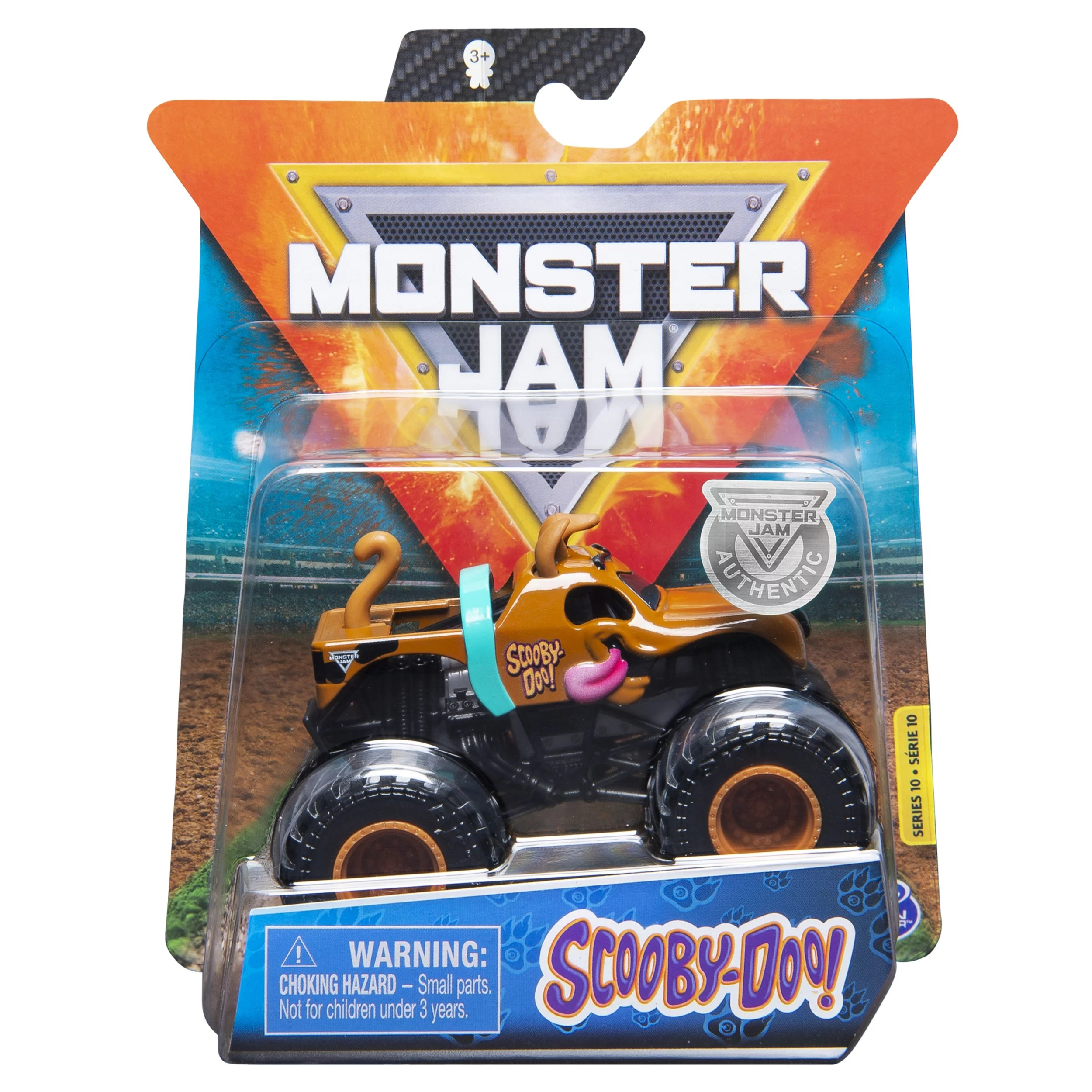 Monster Jam Official Scooby Doo Truck Cast Vehicle