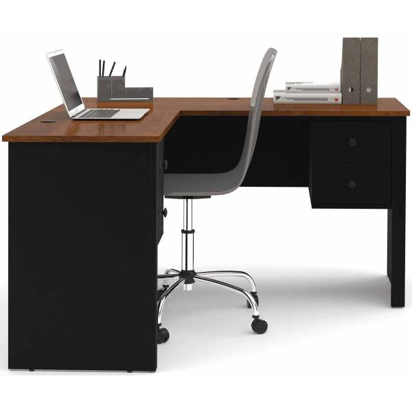 Mainstays Large 28 86  Computer Desk  Black Finish   Walmart com