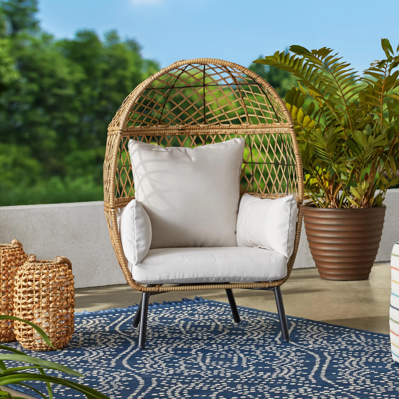 better homes gardens ventura stationary outdoor kid s egg chair