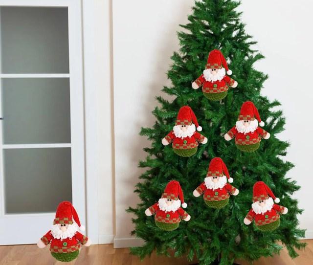 Vbestlife Cute Doll Christmas Tree Door Hanging Ornament Xmas Festival Party Room Indoor Decoration Christmas Decoration Christmas Hanging Decor