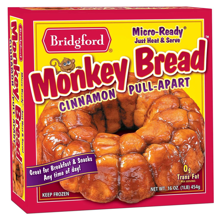 bridgford cinnamon pull apart monkey bread 16 oz walmart com
