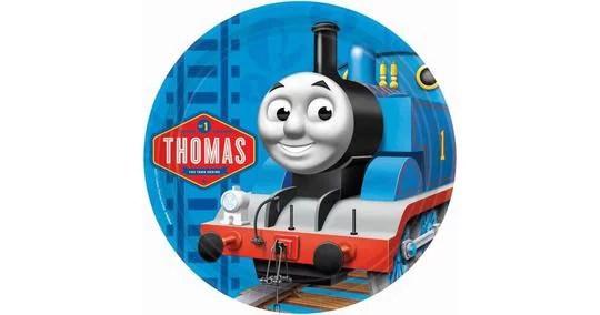 Thomas The Train Birthday Edible Frosting Image Cake Topper 8 Round Walmart Com Walmart Com