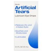 Sterile Artificial Tears Lubricant Eye Drops 0 5 Fl Oz