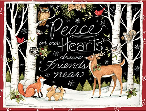 LANG PEACE IN OUR HEARTS BOXED CHRISTMAS CARDS