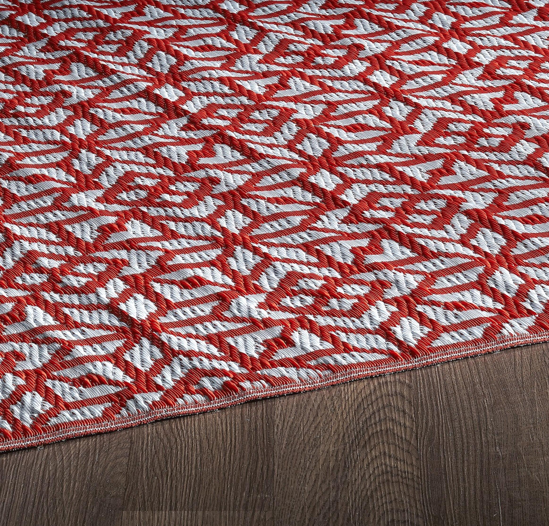 tapis en plastique reversible rouge exterieur sud ouest interieur 5 pi x 8 pi