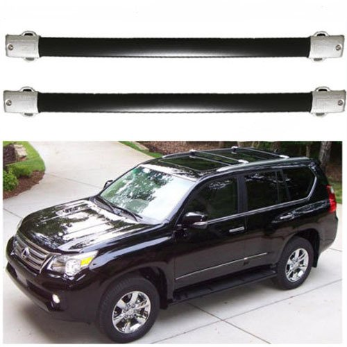 roof rack cross bars for 10 17 lexus gx460 carrier luggage pair set oe style