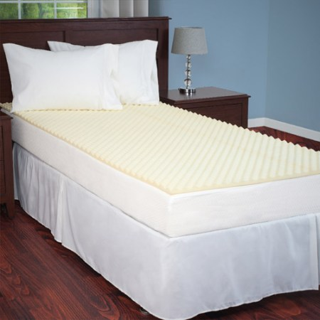 Egg Crate Mattress Topper Twin And Xl Designed To Add Extra Comfort