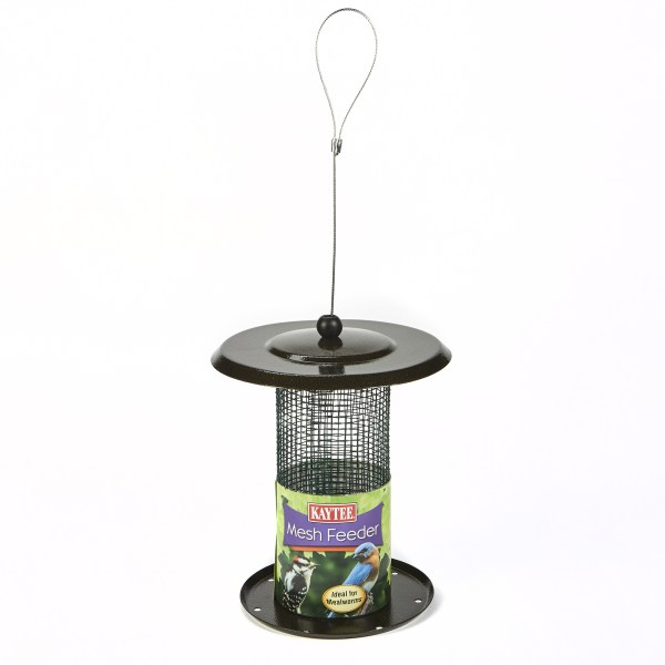 Kaytee Mealworm and Nut Mesh Wild Bird Feeder  Holds 3 5 oz     Kaytee Mealworm and Nut Mesh Wild Bird Feeder  Holds 3 5 oz Mealworms or 1  lbs