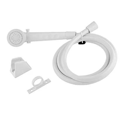 dura faucet rv shower head hose black