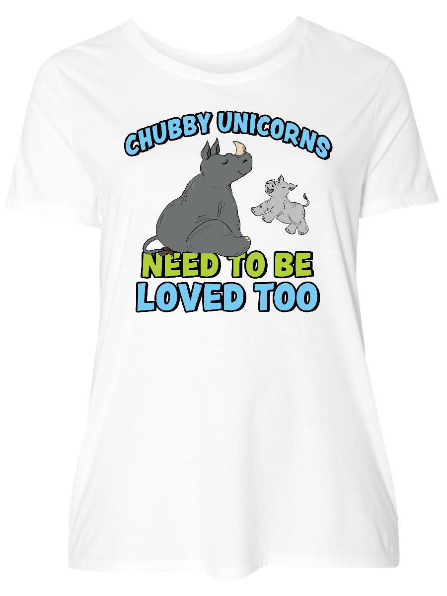 Download INKtastic - Chubby Unicorns Need Love Too with Cute Rhinos ...