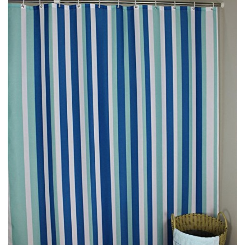 extra long 96 inches shower curtain welwo mildew resistant shower curtain liner fabric set waterproof antibacteral designed with curtain hooks 72 x