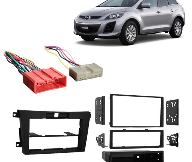 Fits Mazda Cx  Multi Din Aftermarket Harness Radio Install Dash Kit